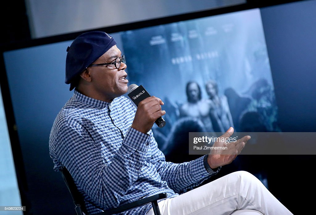 Actor Samuel L. Jackson speaks at AOL Build Presents - Samuel L. Jackson From The New Movie 'The Legend Of Tarzan' at AOL Studios In New York on June 29, 2016 in New York City.
