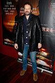 Actor Samuel Le Bihan attends 'Night Fare' Paris Premiere at Drugstore Publicis Cinema on January 11 2016 in Paris France