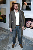 Actor Samuel Le Bihan attends the 'Guy Bourdin Portraits' Exhibition Opening and Cocktail at Studio des Acacias on March 31 2016 in Paris France