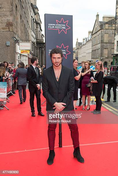 Actor Samuel Robertson attends the Opening Night Gala and World Premiere of 'The Legend of Barney Thomson' at Festival Theatre during the Edinburgh...