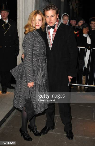 Actor Samuel West and guest attend London Evening Standard Theatre Awards at The Savoy Hotel on November 28 2010 in London England