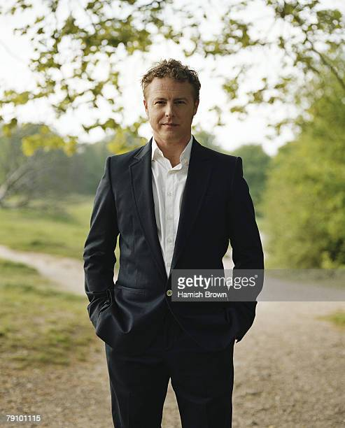 Actor Samuel West poses for a portrait shoot for ES Magazine in London on May 4 2007
