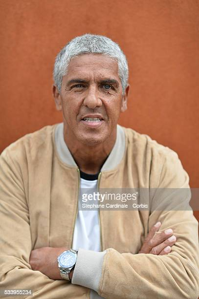 Actor Samy Naceri attends the 2016 French tennis Open day 3 at Roland Garros on May 24 2016 in Paris France