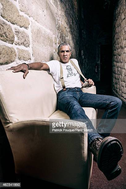 Actor Samy Naceri is photographed for Paris Match on January 8 2015 in Paris France