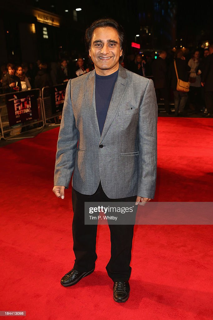 Actor <a gi-track='captionPersonalityLinkClicked' href=/galleries/search?phrase=Sanjeev+Bhaskar&family=editorial&specificpeople=703950 ng-click='$event.stopPropagation()'>Sanjeev Bhaskar</a> attends a screening of 'Zero Theorem' during the 57th BFI London Film Festival at Odeon West End on October 13, 2013 in London, England.
