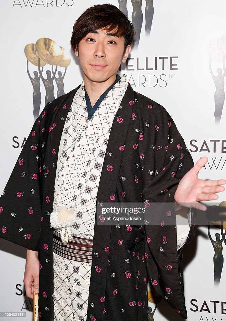 Actor Sanshiro Katsura attends International Press Academy's 17th Annual Satellite Awards at InterContinental Hotel on December 16, 2012 in Century City, California.