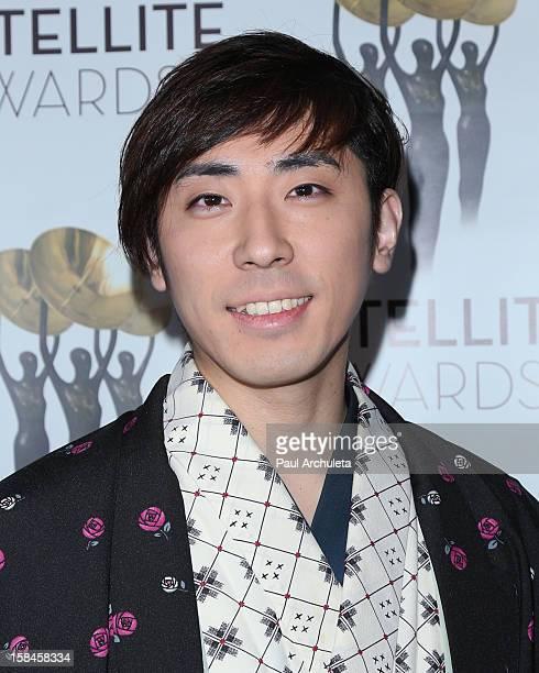 Actor Sanshiro Katsura attends the International Press Academy's 17th Annual Satellite Awards at InterContinental Hotel on December 16 2012 in...