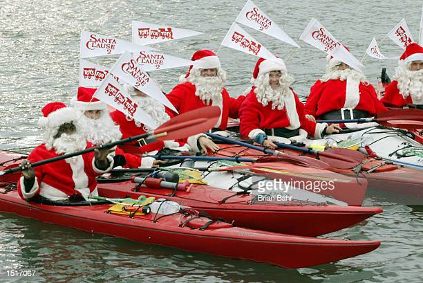 Santa boat stock photos and pictures getty images