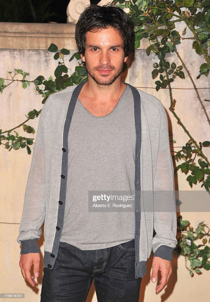 Actor <a gi-track='captionPersonalityLinkClicked' href=/galleries/search?phrase=Santiago+Cabrera&family=editorial&specificpeople=745559 ng-click='$event.stopPropagation()'>Santiago Cabrera</a> attends MIU MIU presents Lucrecia Martel's 'Muta' on July 19, 2011 in Beverly Hills, California.