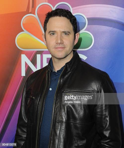 Actor Santino Fontana arrives at the 2016 Winter TCA Tour NBCUniversal Press Tour at Langham Hotel on January 13 2016 in Pasadena California