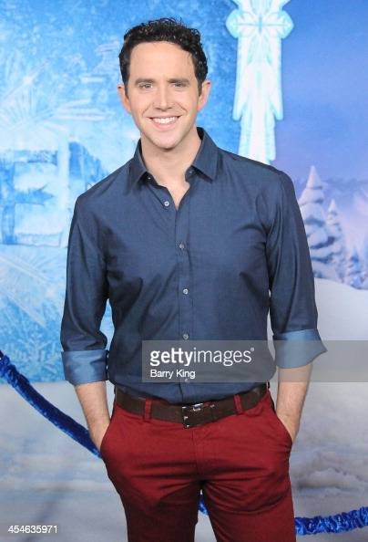 Actor Santino Fontana arrives at the Los Angeles Premiere 'Frozen' on November 19 2013 at the El Capitan Theatre in Hollywood California