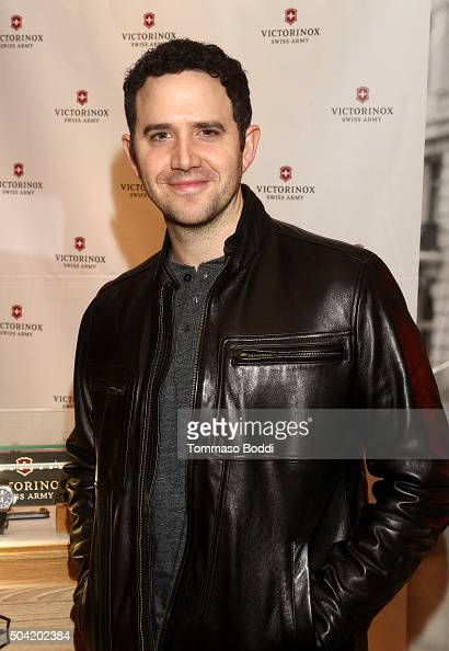 Actor Santino Fontana attends the HBO Luxury Lounge at the Four Seasons Hotel Los Angeles at Beverly Hills on January 9 2016 in Los Angeles California
