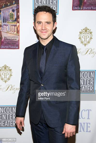 Actor Santino Fontana attends the opening night party for 'Act One' at The Plaza Hotel on April 17 2014 in New York City
