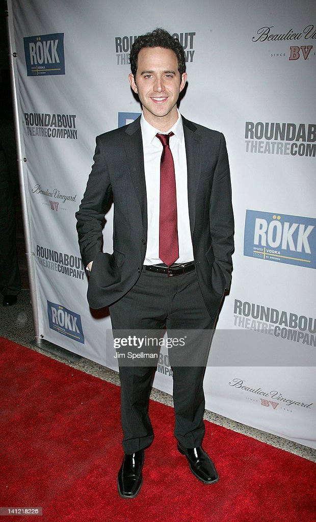 Actor Santino Fontana attends The Roundabout Theatre 2012 Spring Gala 'From Screen to Stage' dinner and auction at the Hammerstein Ballroom on March 12, 2012 in New York City.
