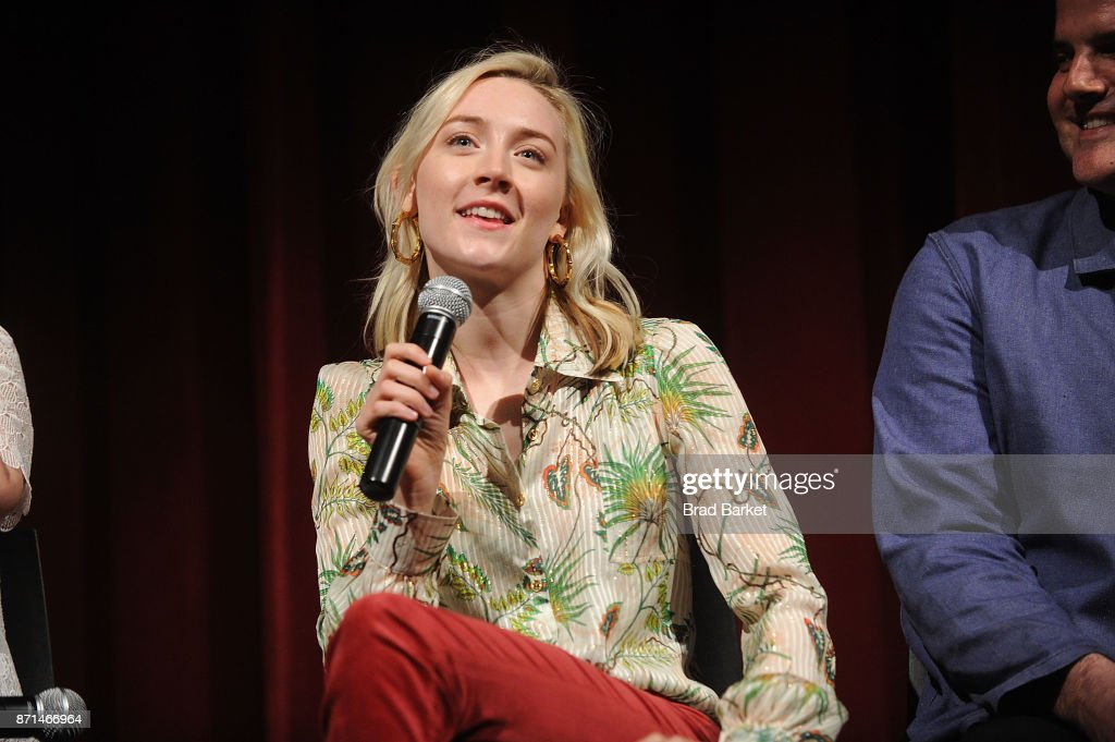 Actor Saoirse Ronan attends an official Academy screening of 'Lady Bird' hosted by The Academy of Motion Picture Arts & Sciences on November 7, 2017 in New York City.