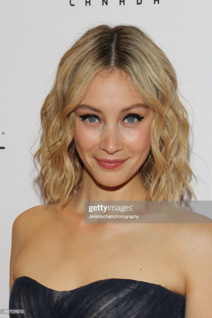 Actor Sarah Gadon attends the 'Alias Grace' Premiere held at Winter Garden Theatre during the 2017 Toronto International Film Festival on September 14, 2017 in Toronto, Canada.