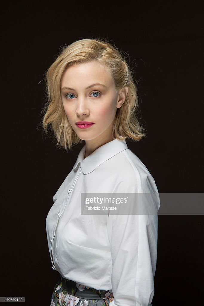 Actor <a gi-track='captionPersonalityLinkClicked' href=/galleries/search?phrase=Sarah+Gadon&family=editorial&specificpeople=6606524 ng-click='$event.stopPropagation()'>Sarah Gadon</a> is photographed in Cannes, France.