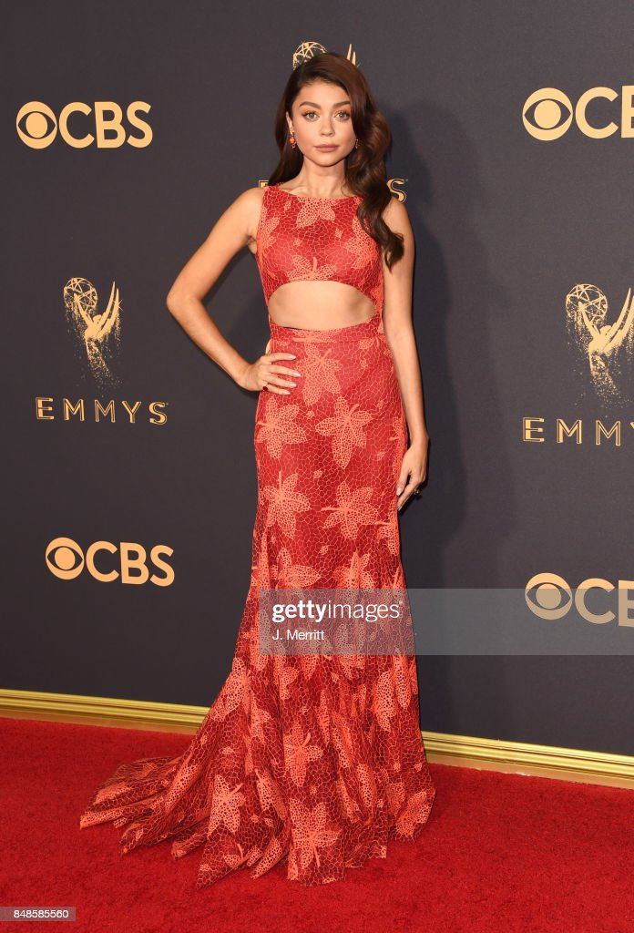 Actor Sarah Hyland attends the 69th Annual Primetime Emmy Awards at Microsoft Theater on September 17, 2017 in Los Angeles, California.