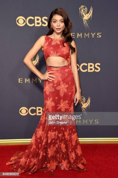 Actor Sarah Hyland attends the 69th Annual Primetime Emmy Awards at Microsoft Theater on September 17 2017 in Los Angeles California