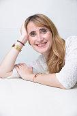 Actor Sarah Pebereau is photographed for Paris Match on November 5 2015 in Paris France