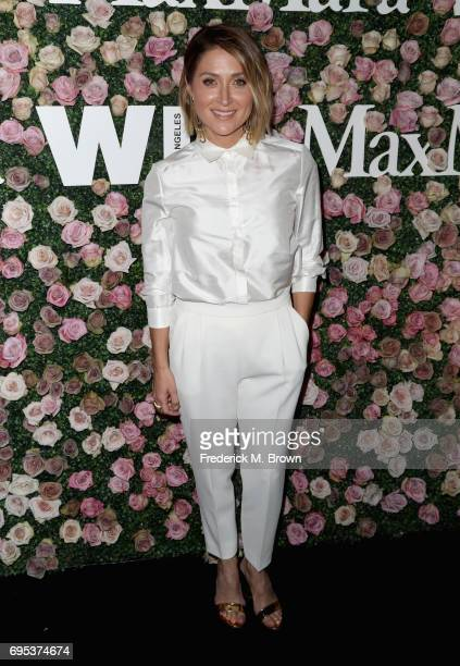Actor Sasha Alexander attends Max Mara Celebration of Zoey Deutch as The 2017 Women In Film Max Mara Face of The Future Award Recipient at Chateau...