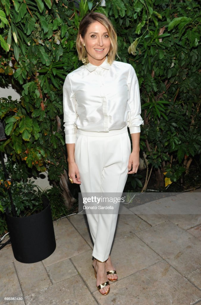 Actor Sasha Alexander, wearing Max Mara, at Max Mara Celebrates Zoey Deutch - The 2017 Women In Film Max Mara Face of the Future at Chateau Marmont on June 12, 2017 in Los Angeles, California.