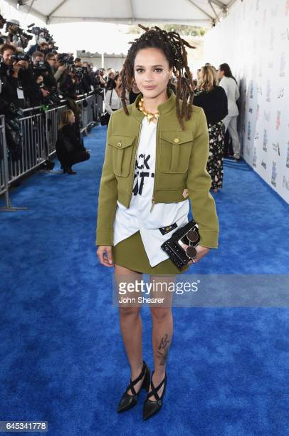 Actor Sasha Lane attends the 2017 Film Independent Spirit Awards at Santa Monica Pier on February 25 2017 in Santa Monica California