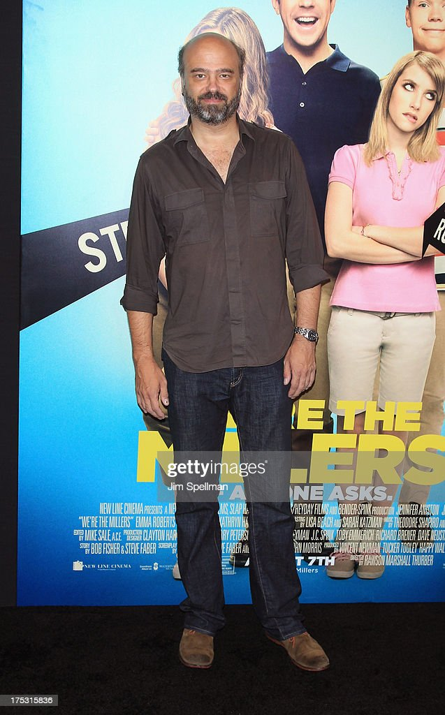 Actor Scott Adsit attends the 'We're The Millers' New York Premiere at Ziegfeld Theater on August 1, 2013 in New York City.
