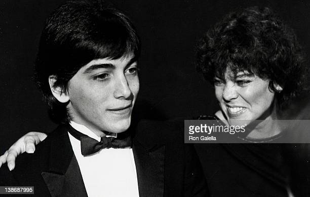 Actor Scott Baio and Erin Moran attending 1982 American Image Awards on October 25 1982 at Sheraton Center in New York City New York