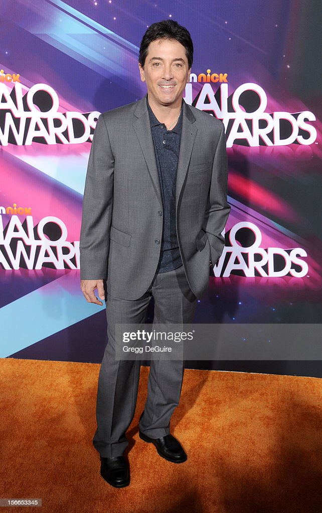 Actor Scott Baio arrives at the TeenNick HALO Awards at The Hollywood Palladium on November 17, 2012 in Los Angeles, California.