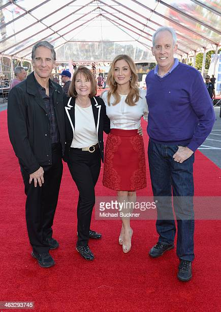 Actor Scott Bakul SAG Awards Executive Producer Kathy Connell Actress Sasha Alexander and SAG Awards Producer Daryl Anderson attend 20th Annual...