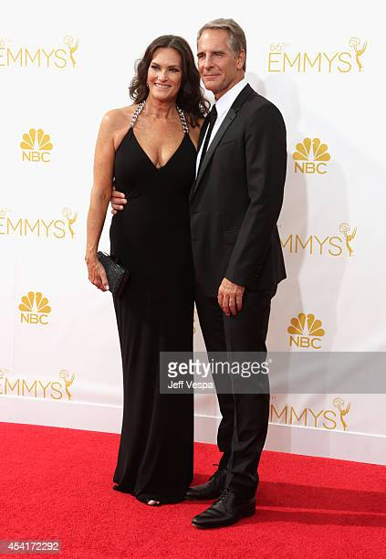 Actor Scott Bakula and actress Chelsea Field attend the 66th Annual Primetime Emmy Awards held at Nokia Theatre LA Live on August 25 2014 in Los...
