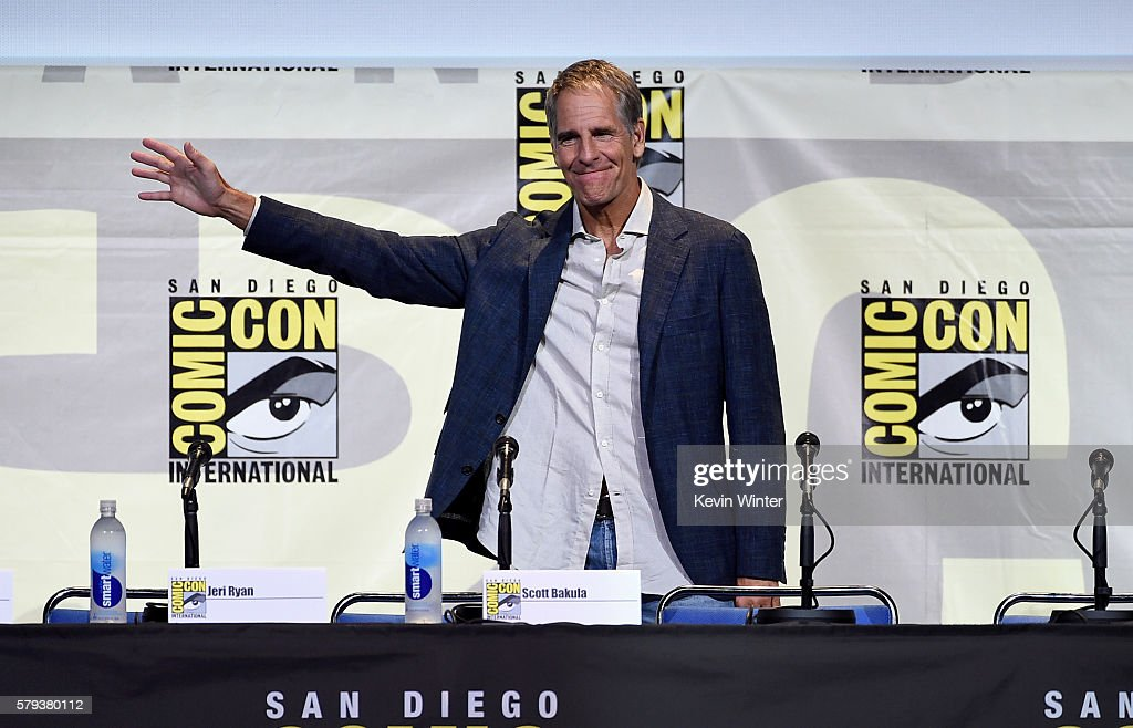 Actor Scott Bakula attends the 'Star Trek' panel during Comic-Con International 2016 at San Diego Convention Center on July 23, 2016 in San Diego, California.