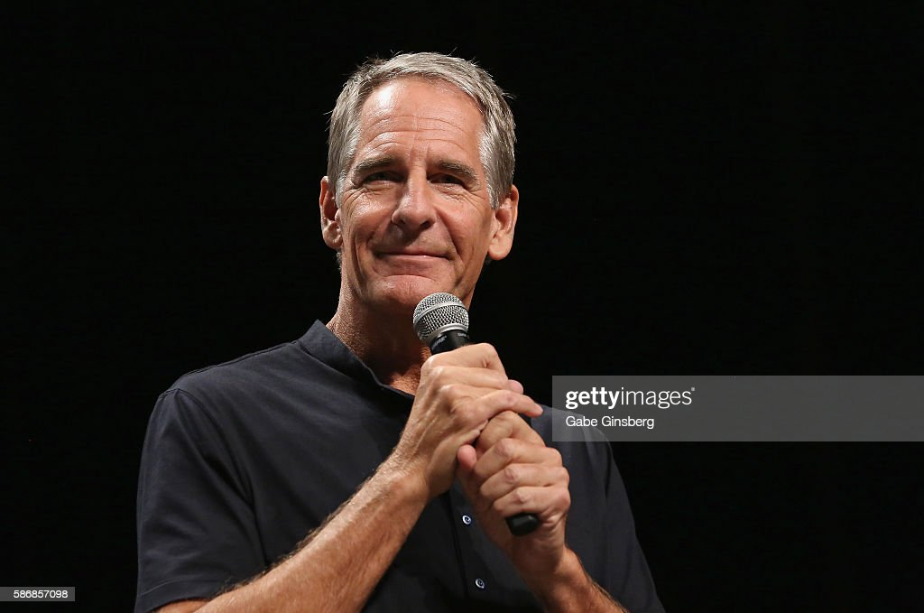 Actor Scott Bakula speaks during the 15th annual official Star Trek convention at the Rio Hotel & Casino on August 6, 2016 in Las Vegas, Nevada.