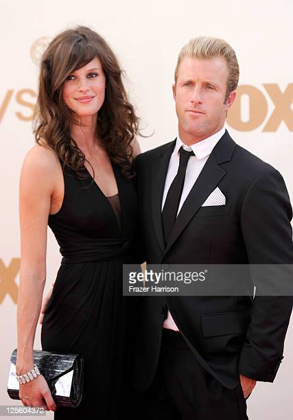 Actor Scott Caan and Kacy Byxbee arrive at the 63rd Annual Primetime Emmy Awards held at Nokia Theatre LA LIVE on September 18 2011 in Los Angeles...