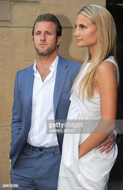 Actor Scott Caan arrives with his girlfriend at the premiere of 'Mercy' at the Egyptian Theater in Hollywood California on May 3 2010 AFP PHOTO /...