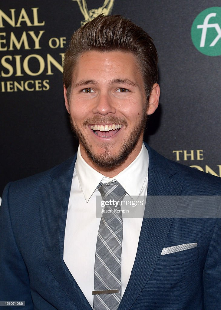 Actor <a gi-track='captionPersonalityLinkClicked' href=/galleries/search?phrase=Scott+Clifton&family=editorial&specificpeople=675202 ng-click='$event.stopPropagation()'>Scott Clifton</a> attends The 41st Annual Daytime Emmy Awards at The Beverly Hilton Hotel on June 22, 2014 in Beverly Hills, California.