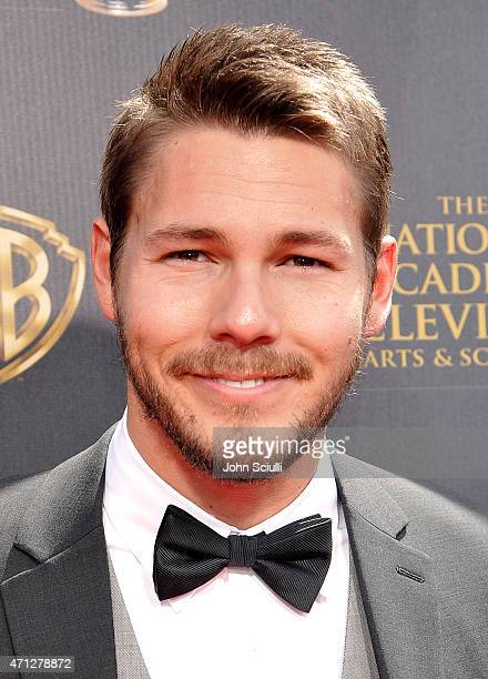 Actor Scott Clifton attends The 42nd Annual Daytime Emmy Awards at Warner Bros Studios on April 26 2015 in Burbank California