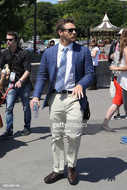 Actor Scott Clifton is seen on June 12 2014 in Paris France