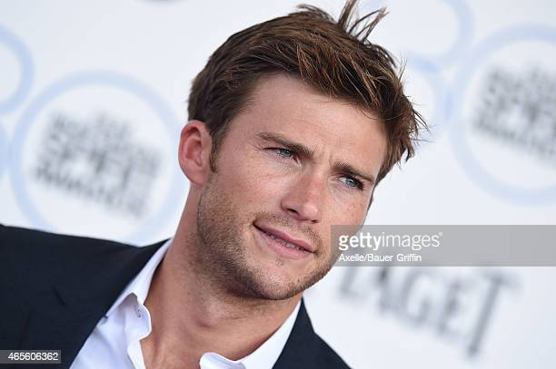 Actor Scott Eastwood arrives at the 2015 Film Independent Spirit Awards on February 21 2015 in Santa Monica California