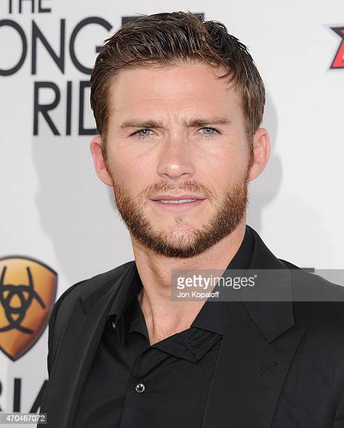 Actor Scott Eastwood arrives at the Los Angeles Premiere 'The Longest Ride' at TCL Chinese Theatre IMAX on April 6 2015 in Hollywood California
