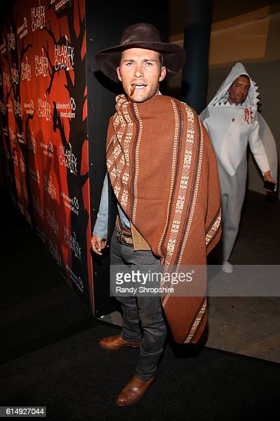 Actor Scott Eastwood attends Hilarity for Charity's 5th Annual Los Angeles Variety Show Seth Rogen's Halloween at Hollywood Palladium on October 15...