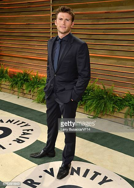 Actor Scott Eastwood attends the 2014 Vanity Fair Oscar Party Hosted By Graydon Carter on March 2 2014 in West Hollywood California