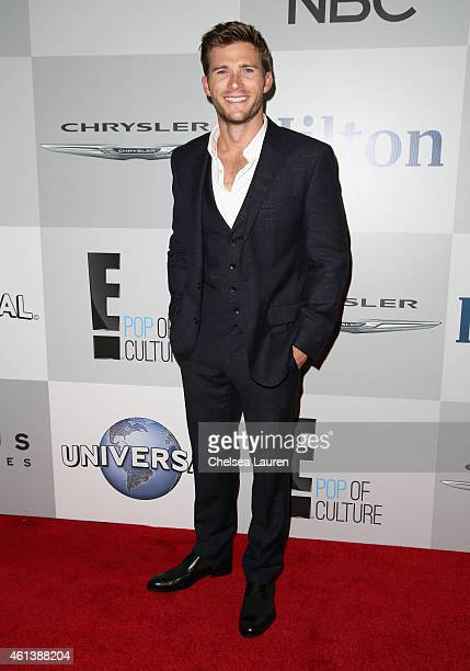 Actor Scott Eastwood attends the NBCUniversal 2015 Golden Globe Awards Party sponsored by Chrysler at The Beverly Hilton Hotel on January 11 2015 in...