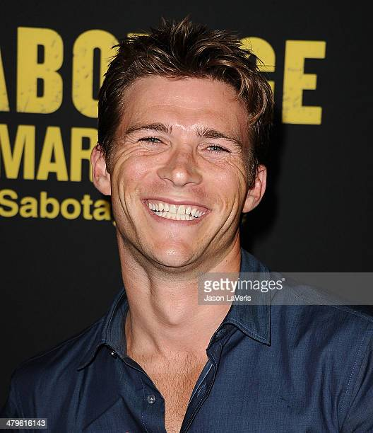 Actor Scott Eastwood attends the premiere of 'Sabotage' at Regal Cinemas LA Live on March 19 2014 in Los Angeles California