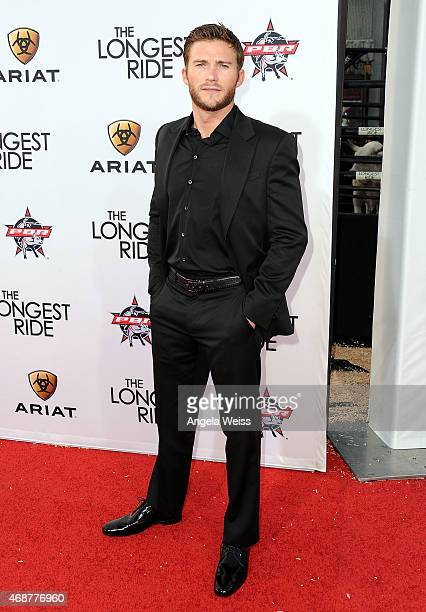 Actor Scott Eastwood attends the premiere of Twentieth Century Fox's 'The Longest Ride' at TCL Chinese Theatre IMAX on April 6 2015 in Hollywood...