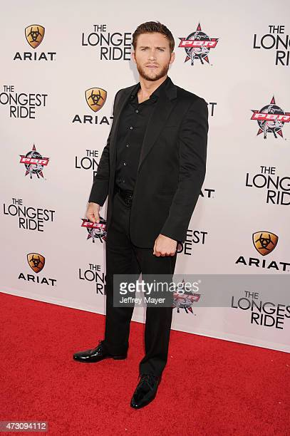 Actor Scott Eastwood attends the premiere of Twentieth Century Fox's 'The Longest RIde' at the TCL Chinese Theatre IMAX on April 6 2015 in Hollywood...