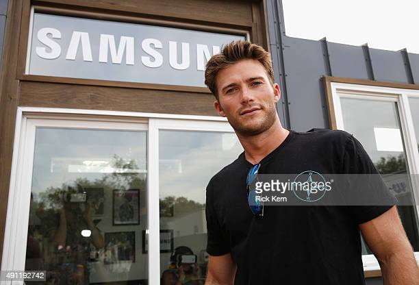 Actor Scott Eastwood attends the Samsung Artist House at Austin City Limits Music Festival 2015 on October 3 2015 in Austin Texas