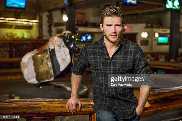 Actor Scott Eastwood is photographed for USA Today on March 9 2015 in Universal City California PUBLISHED IMAGE