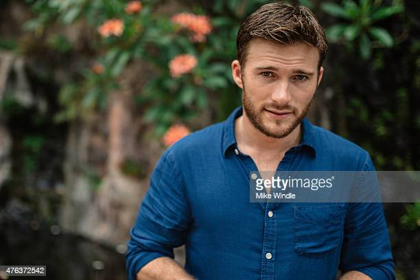 Actor Scott Eastwood poses for a portrait session at the 2015 Maui Film Festival on June 3 2015 in Wailea Hawaii